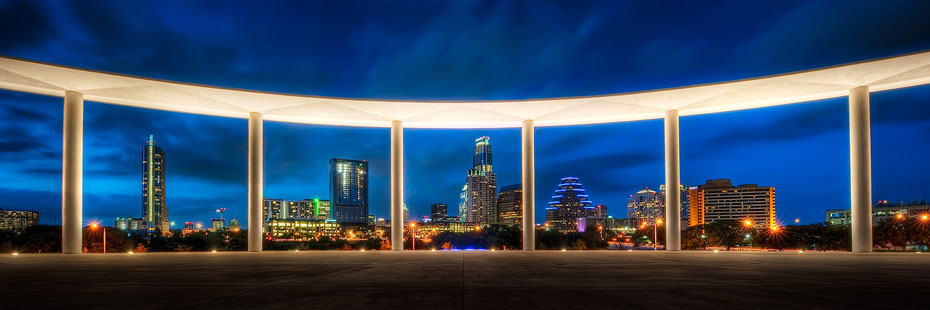 Long Center Skyline photo by John R Rogers